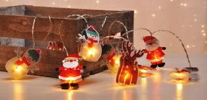 Weihnachtsbeleuchtung Figuren Led.Details Zu Led Weihnachts Lichterkette Figuren Weihnachtsbeleuchtung Advents Beleuchtung