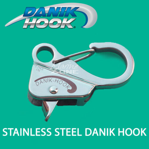 NO KNOTTS Stainless Steel Danik Hook Slide Anchor suits rope 9.525mm-11.1125mm