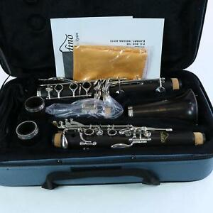 Andino-by-Luis-Rossi-Intermediate-Wood-Clarinet-with-Nickel-Keys-BRAND-NEW