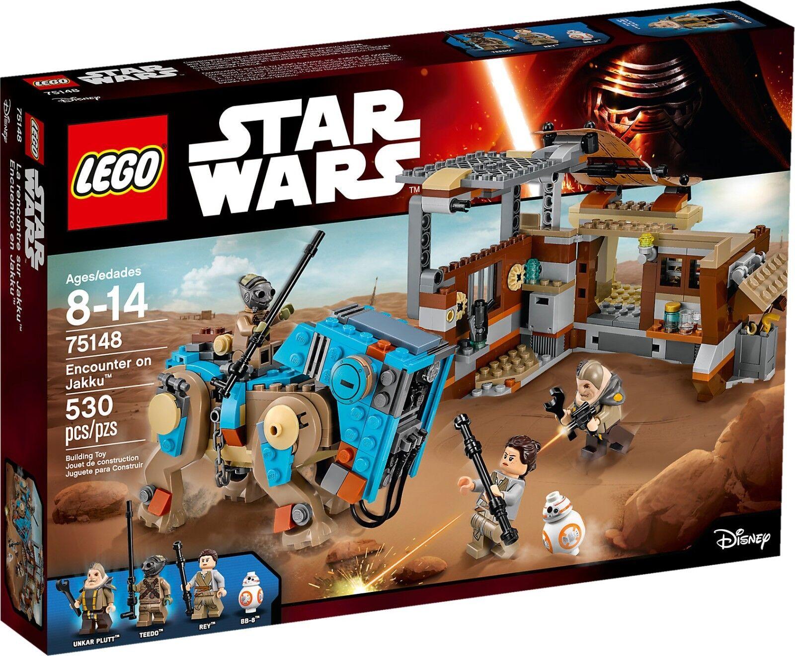 LEGO STAR WARS 75148 INCONTRO SU JAKKU NUOVO NEW NEW NEW 68f5d2