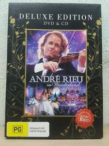 ANDRE-RIEU-In-Wonderland-DVD-CD-2-Disc-Set-LIVE-CONCERT-Deluxe-Edition