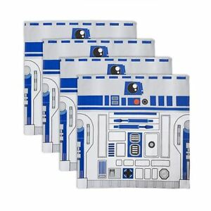 Star-Wars-Official-Lucasfilm-R2-D2-Napkin-and-C-3PO-Napkin-Ring-Set-Droid-Robot