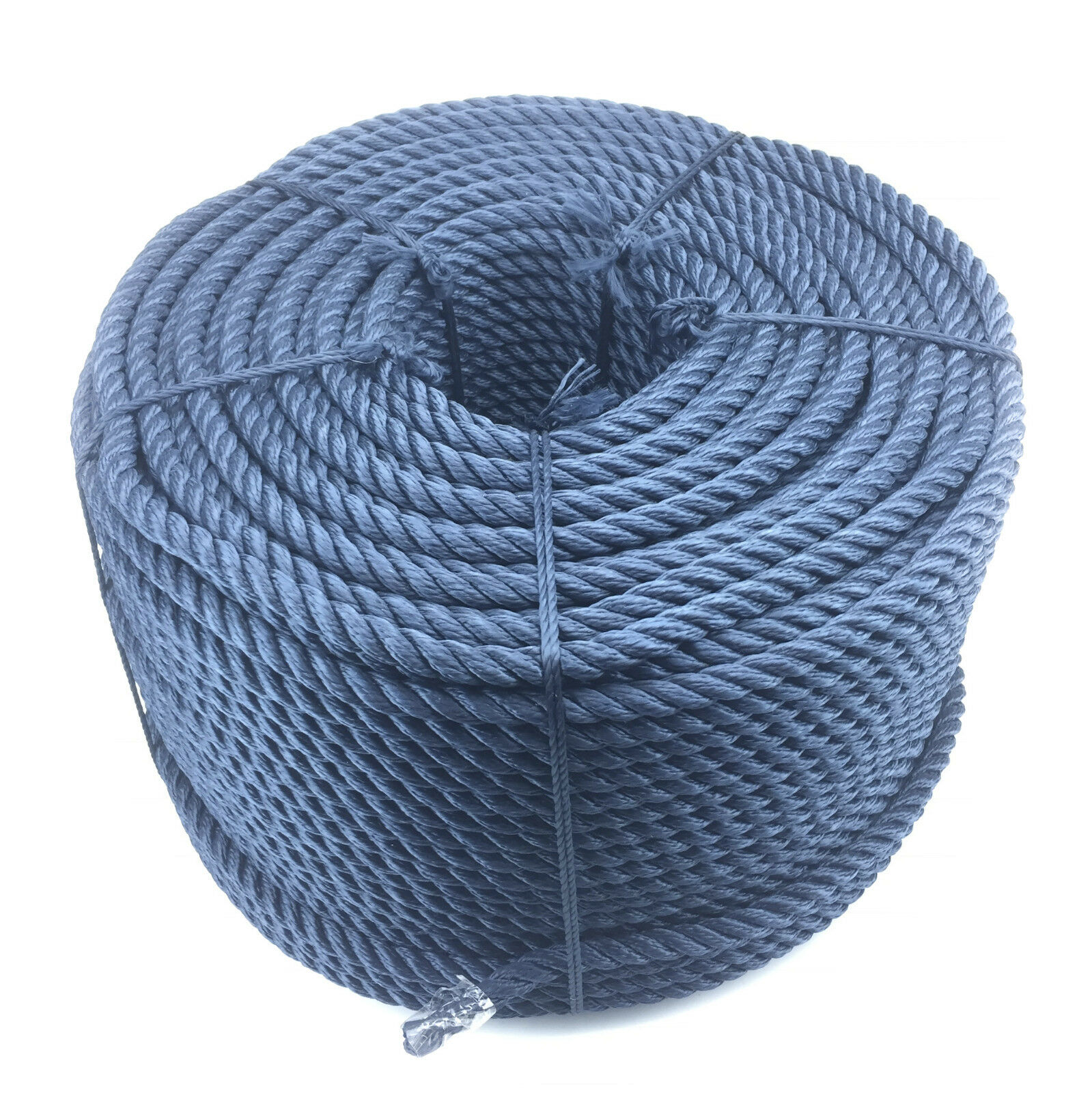 18mm Navy bluee 3 Strand Multifilament Softline Rope x 20 Metres (Floating Rope)