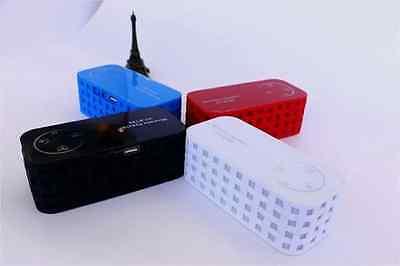 New Led Portable Bluetooth Speaker Wireless Fm Super Perfect Amazing Bass Hifi GroßEr Ausverkauf