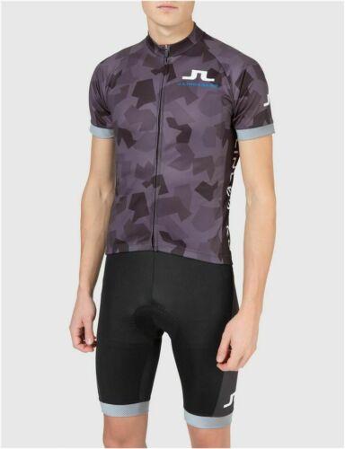 LINDEBERG La Cipressa Vélo Jersey Noir Camo Manufacturers Standard prix de détail $175 Medium-J
