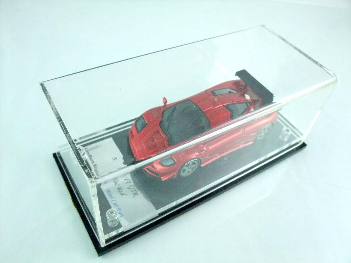 1 43 Mclaren F1 GTR LM street version metallic rosso autobarn ab
