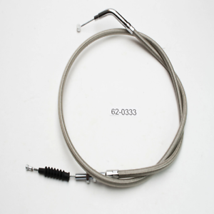 ~1988 Honda VT600C Shadow VLX +6in. Armor Coat Stainless Steel Clutch Cable