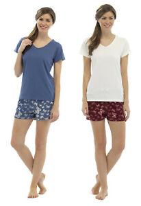d0c2e11000 ladies short pyjamas jersey top fleece shorts womens uk 8-18 night ...