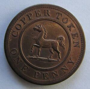 Great-Britain-Penny-Token-1812-Birmngm-amp-SouthWales-Horse-Warwickshire