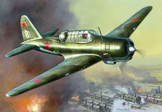 Zvezda 1 48 48 48 Sovietico Bomber Sukhoi Su-2 7300fc