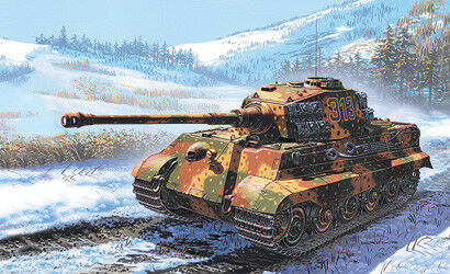 WWII // 2. Weltkrieg Italeri 7004-1//72 Dt - Neu Sd.Kfz 182 Königstiger