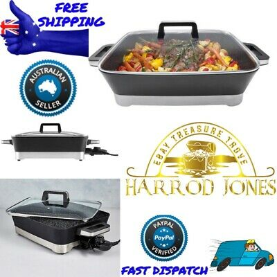 Electric Frying Pan Best Cooking Pot Steel Cookware Fry