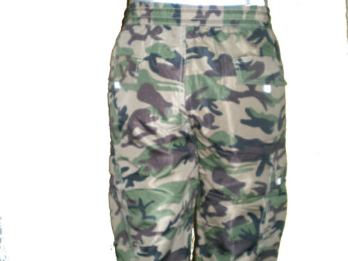 MensThermal,Fleece Lined Army Combats Cargo Camouflage Military Trouser// Pants