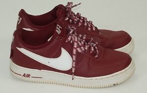 3ab313ebcee8 Nike Air Force 1 One Low  07 NBA Pack Red White 823511-605 AF1 ...