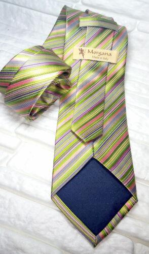 Herren-accessoires Luxus Krawatte Rote Pflaumenfarbe 100% Seide Made In Italy Marke Morgana Vp€ 35 Kleidung & Accessoires