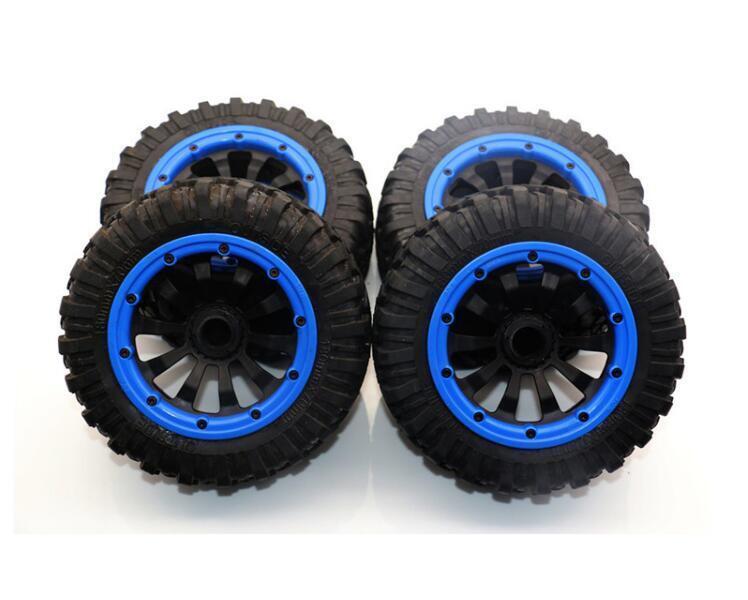 Anti - tragen all - terrain - 2 - + 2 hinterrad reifen rad fr 5ive-t 4pcs losi