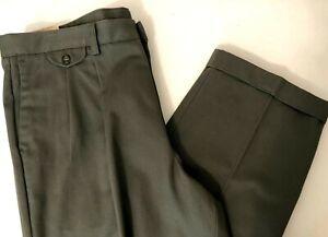 Nuevo Con Etiquetas Verde Dockers Para Hombre Con Calce Recto Pantalones Tipo Chino Caqui Flex 42 30 Ebay