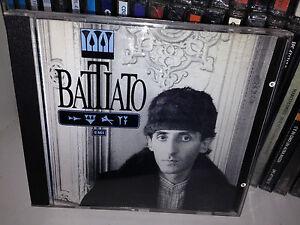 FRANCO-BATTIATO-CD-OMONIMO-1986-FUORI-CATALOGO-15-SUCCESSI-MADE-IN-SWITZERLAND