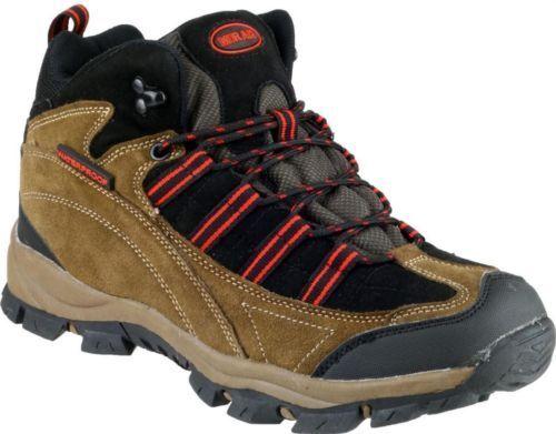 Bota para excursionismo Mirak para hombre Kentucky Hiker Marrón Rojo Uk 10 EU 44 LN20 55 SALEX