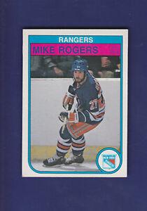 Mike-Rogers-1982-83-O-PEE-CHEE-OPC-Hockey-232-NM-New-York-Rangers