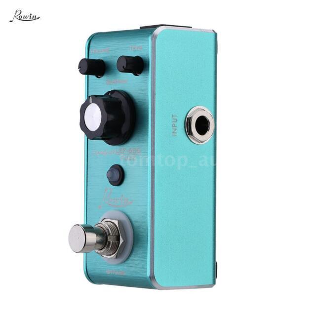 Rowin LEF-606 Fuzz Pedal Mini Portable Guitar Effect Pedal High Quality W6E9