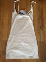 John Lewis Shapewear Firm Control Wear Your Own Bra Slip Nude Beige Uk 12