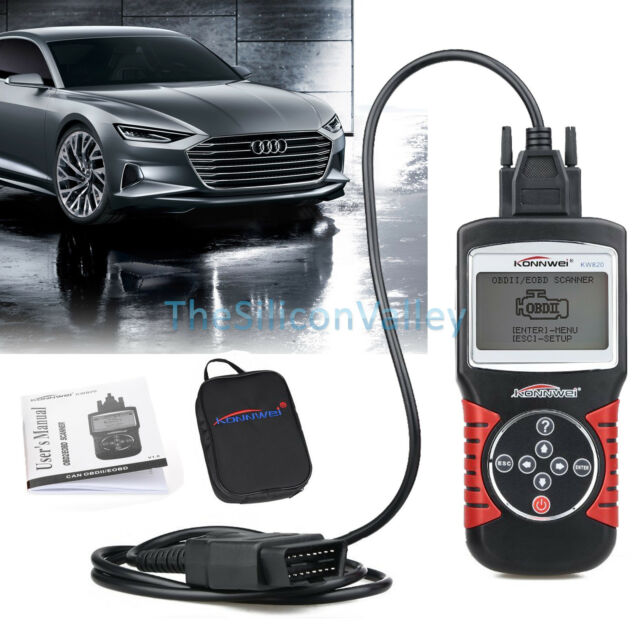 OBD2 OBDII EOBD Car Auto Scanner Diagnostic Tool Live Data Fault Code Reader