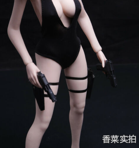 "1//6 P226 Weapon Rifle Model Toys  Pull Leggings Holster F 12/"" Gun Figure  action"