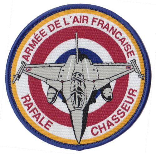 Patch écusson pilote rafale armée air France patche thermocollant tissé
