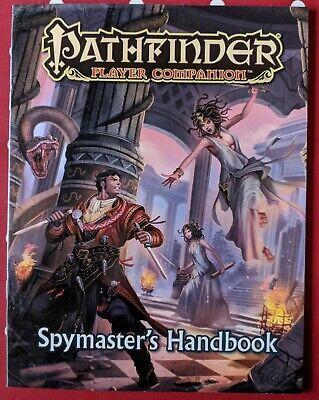 Pathfinder Player Compagno Spionaggio's Handbook Paizo 2016-mostra Il Titolo Originale