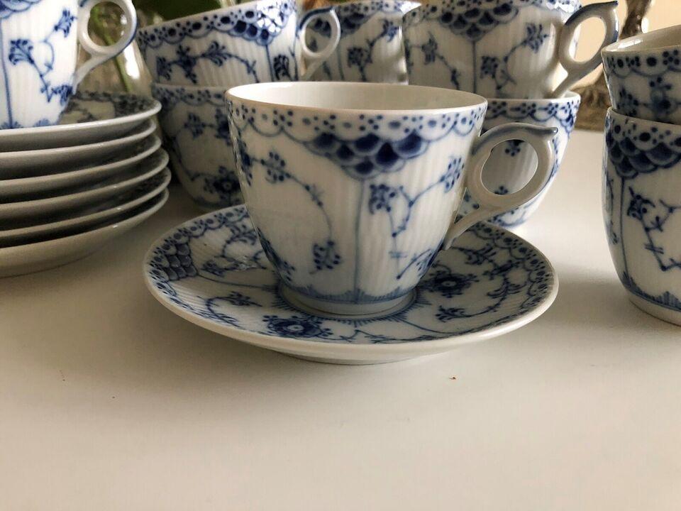Porcelæn, Kaffekop, Musselmalet