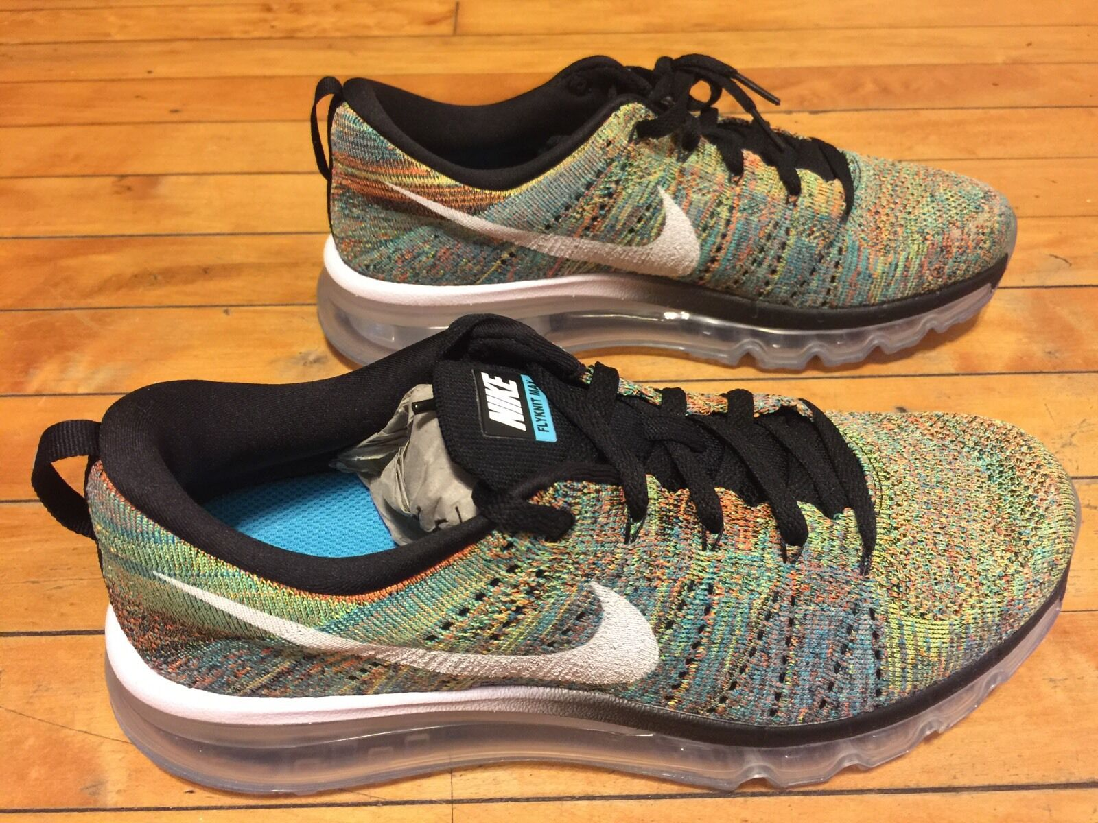 NIKE FLYKNIT MAX 620469-004 SIZE 8.5 MULTICOLOR SUPREME LIMITED SOLD OUT QS New shoes for men and women, limited time discount