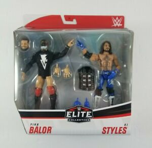 New-WWE-Mattel-Finn-Balor-Vs-AJ-Styles-Exclusive-Elite-Series-Figures-Two-Pack