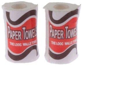Dollhouse Miniatures 1:12 Scale Paper Towels 2//Pk #IM65059