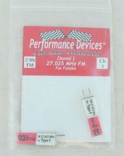 36210-F12 Futaba 27Mhz FM Crystal Set US CH6//EUR CH12 27.255Mhz PDV9300255