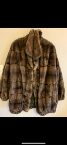 Stunning Vollbracht Furriers Vintage Mink Fur Coat