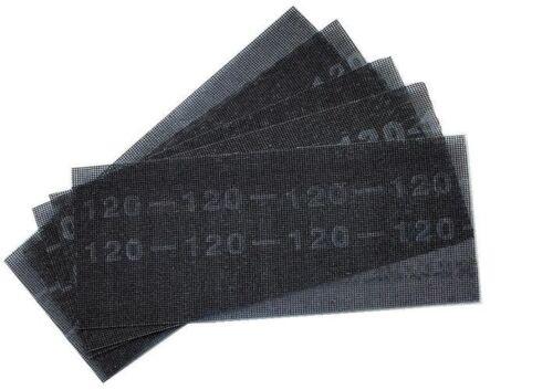 50x Schleifgitter Bogen 280 x 115mm Körnung 60 Trockenbau Schleifpapier