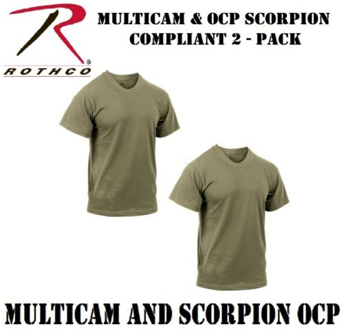 Coyote Brown Multicam OCP Scorpion Official AR 670-1 Army T-Shirt Rothco 67847