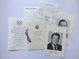 1981-President-Ronald-Reagan-Inauguration-Congressional-Invitation-Package-Bush