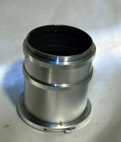 macro extension lens tube for exakta lenses 34mm and 18mm vintage