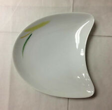 """ROSENTHAL LEMON GRASS E.MOTION MOON ACCENT PLATE 7"""" X 6 3/4"""" NEW GERMANY"""