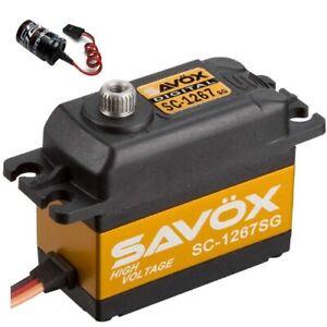 Glitch Buster Savox SC-1258TG Super Speed Titanium Gear Digital Servo