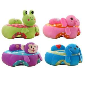 Kids Baby Support Seat Sit Up Soft Chair Cushion Sofa Plush Pillow Toy Doll Bag