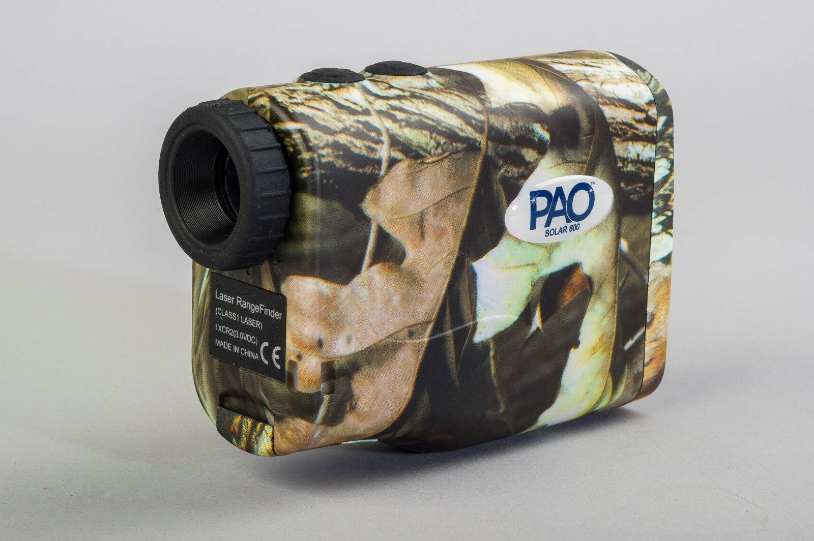 PAO®-Professional Airgun Optics Solar Powered Camo-Coated Laser Range Finder