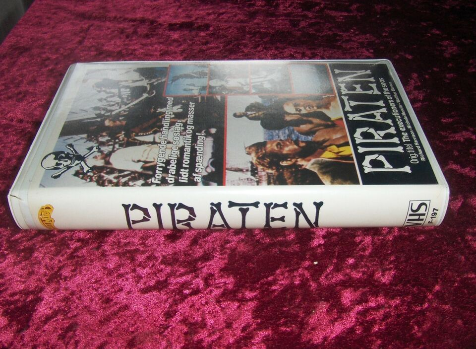Action, PIRATEN - THE EXECUTIONERS OF THE SEAS - Sjælden