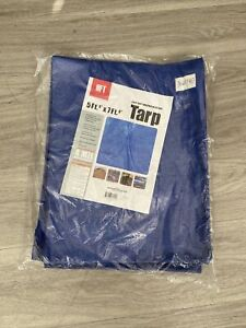 Tarp HFT 5ft. 6in X 7ft 6in Blue All Purpose Weather Reinforced Resistant New!