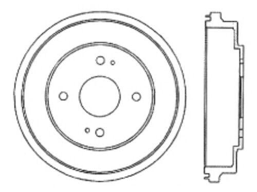 Rear Brake Drum For 1990-2002 Honda Accord 2.3L 4 Cyl 2001 2000 1999 Centric