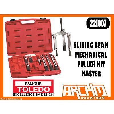 TOLEDO 221007 - SLIDING BEAM MECHANICAL PULLER KIT - MASTER - TWIN TRIPLE LEG