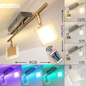 decken lampe design led farbwechsler mit fernbedienung flur wand zimmer leuchte ebay. Black Bedroom Furniture Sets. Home Design Ideas