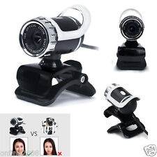 360° USB 2.0 1080P HD WebCam Web Camera With MIC Clip-on for Computer Laptop PC